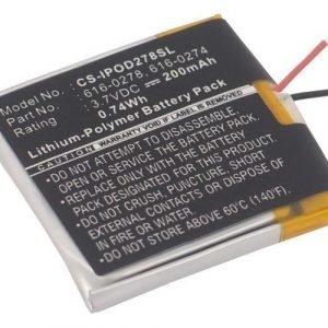 iPOD Shuffle G2 1GB akku 200 mAh