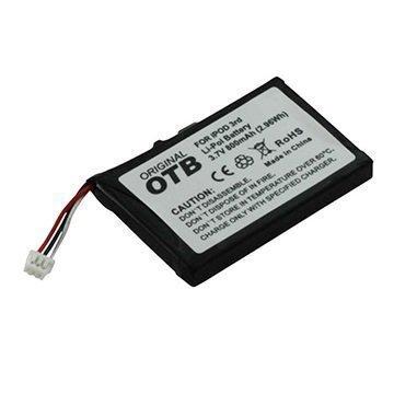 iPod 3G Yhteensopiva Akku 800mAh