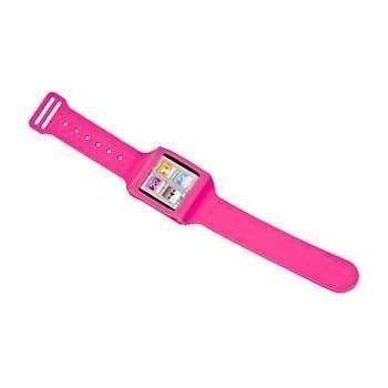 iPod 6G Silicone Armband Pink