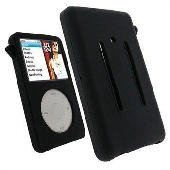 iPod Classic 80GB / 120GB / 160GB iGadgitz Silikonikotelo Musta
