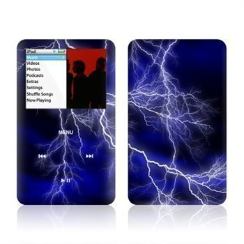 iPod Classic Apocalypse Skin Blue
