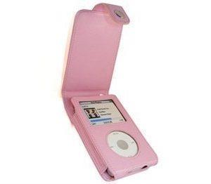 iPod Classic iGadgitz Nahkainen Läppäkotelo Pinkki
