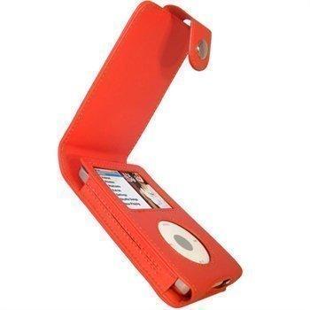 iPod Classic iGadgitz Nahkainen Läppäkotelo Punainen