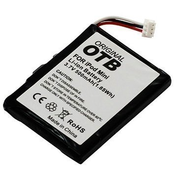 iPod Mini Yhteensopiva Akku 500mAh