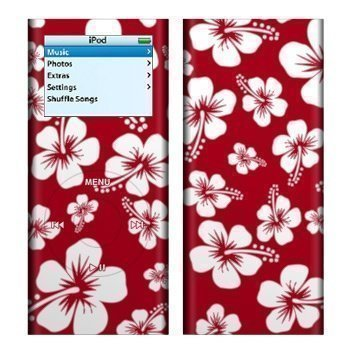 iPod Nano 2G Aloha Skin Red