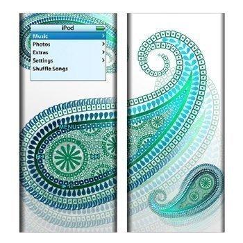 iPod Nano 2G Azure Skin