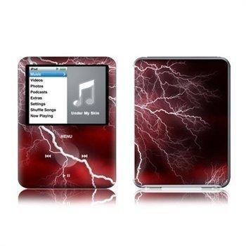 iPod Nano 3G Apocalypse Skin Red