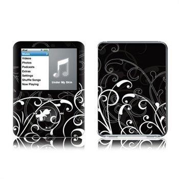 iPod Nano 3G B&W Fleur Skin