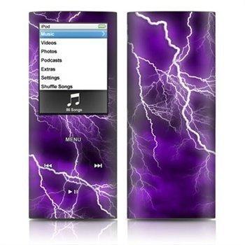 iPod Nano 4G Apocalypse Skin Purple
