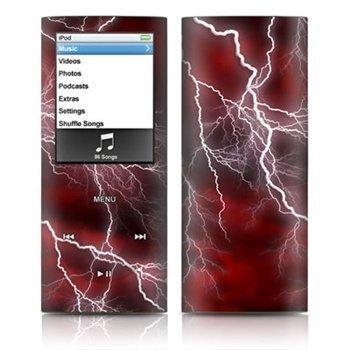 iPod Nano 4G Apocalypse Skin Red