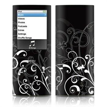 iPod Nano 4G B&W Fleur Skin