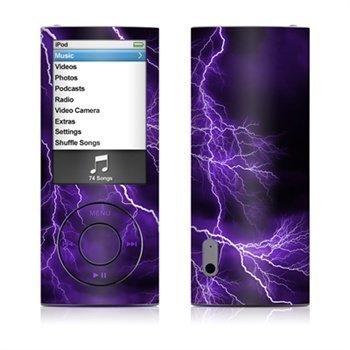 iPod Nano 5G Apocalypse Skin Purple