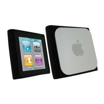 iPod Nano 6G 8GB / 16GB iGadgitz Silicone Case Black