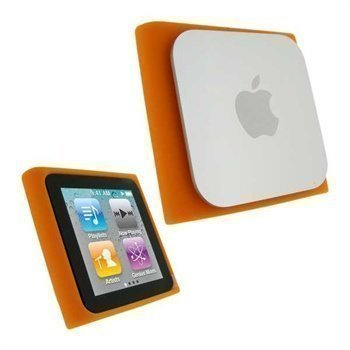 iPod Nano 6G 8GB / 16GB iGadgitz Silicone Case Orange