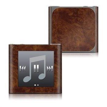 iPod Nano 6G Dark Burlwood Skin
