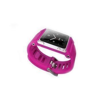 iPod Nano 6G Lunatik Tiktok Kellon Hihna Magenta