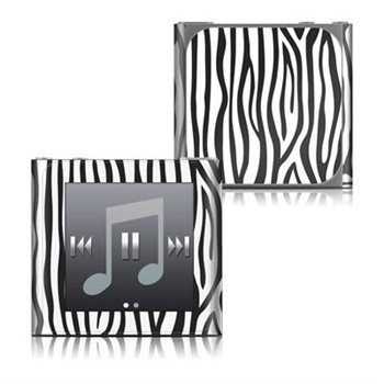iPod Nano 6G Zebra Stripes Skin