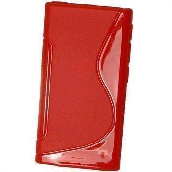 iPod Nano 7G iGadgitz Kaksivärinen TPU-Suojakotelo Punainen