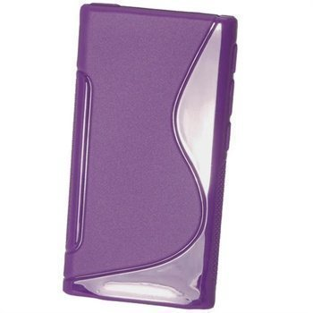 iPod Nano 7G iGadgitz Kaksivärinen TPU-Suojakotelo Violetti