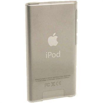 iPod Nano 7G iGadgitz Kiiltävä TPU-Suojakotelo Selkeä