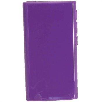 iPod Nano 7G iGadgitz Kiiltävä TPU-Suojakotelo Violetti