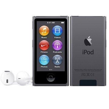 iPod Nano 8G 16Gt Tähtiharmaa