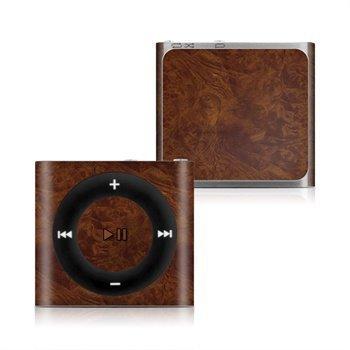 iPod Shuffle 4G Dark Burlwood Skin