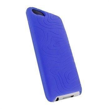 iPod Touch 2G 3G iGadgitz Silikonikotelo Sininen