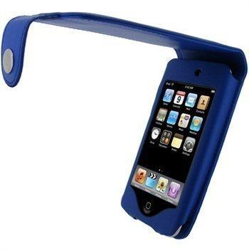 iPod Touch 2G Touch 3G iGadgitz Nahkainen Läppäkotelo Sininen
