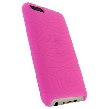 iPod Touch 2G Touch 3G iGadgitz Silikonikotelo Pinkki