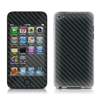 iPod Touch 4G Carbon Skin