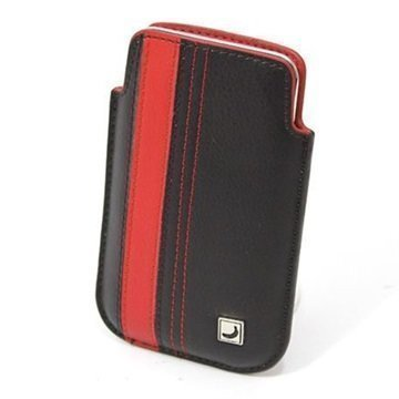 iPod Touch 4G CoolBananas SmartGuy Nahkakotelo Tupakka Musta