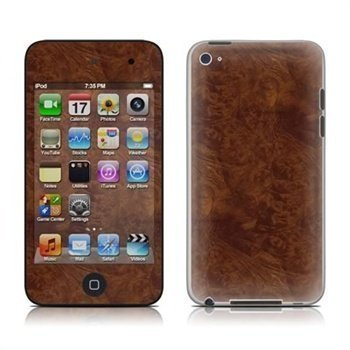 iPod Touch 4G Dark Burlwood Skin