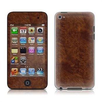iPod Touch 4G Dark Burlwood Skin