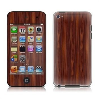 iPod Touch 4G Dark Rosewood Skin