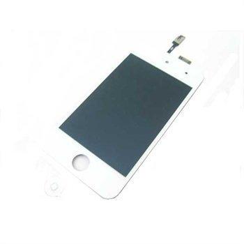 iPod Touch 4G LCD- & Kosketusnäyttö White