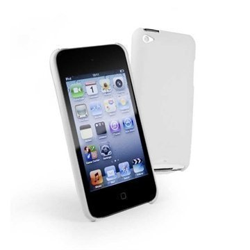 iPod Touch 4G Tuff-Luv iShell Snap-on Cover White