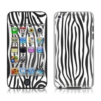 iPod Touch 4G Zebra Stripes Skin