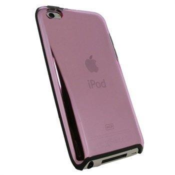 iPod Touch 4G iGadgitz Kovakantinen Suojakotelo Pinkki / Musta
