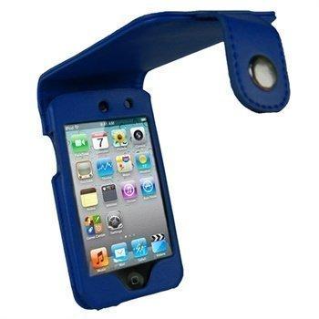 iPod Touch 4G iGadgitz Nahkakotelo Sininen