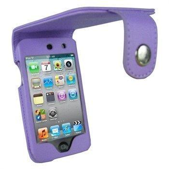 iPod Touch 4G iGadgitz Nahkakotelo Violetti