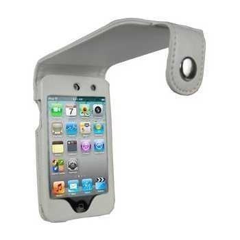 iPod Touch 4G iGadgitz PU Nahkakotelo Valkoinen