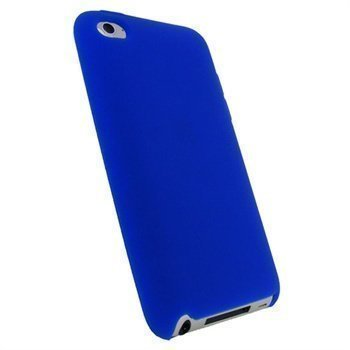 iPod Touch 4G iGadgitz Silicone Cover Blue