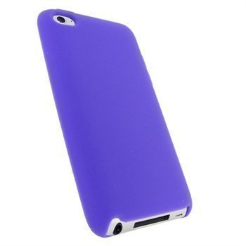 iPod Touch 4G iGadgitz Silicone Cover Purple