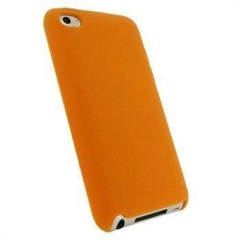 iPod Touch 4G iGadgitz Silikonikotelo Oranssi