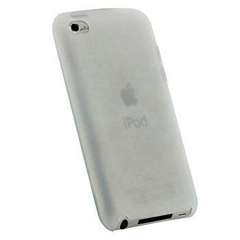 iPod Touch 4G iGadgitz Silikonikotelo Valkoinen