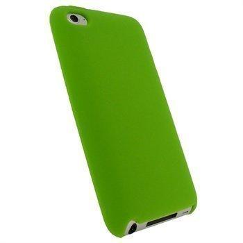 iPod Touch 4G iGadgitz Silikonikotelo Vihreä