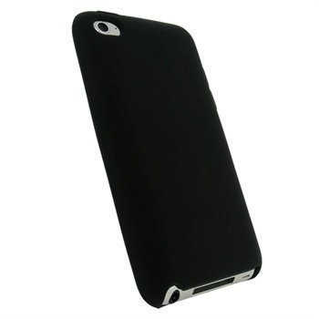 iPod Touch 4G iGadgitz Silikonikotelo Violetti