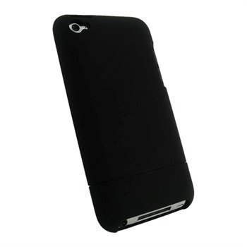iPod Touch 4G iGadgitz Snap-on Cover Black