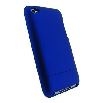 iPod Touch 4G iGadgitz Snap-on Cover Blue